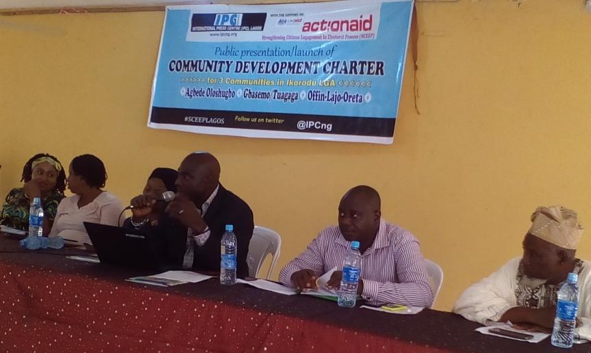Grassroot development: Ikorodu communities gets Community DevelopmentCharter
