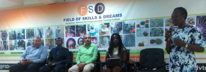 Curbing poverty through skills acquisition: The FSD/ NAGODE partnership example