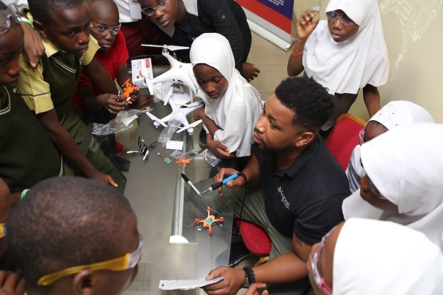 U.S. trains Nigerian Students, Women, on Drone Technology
