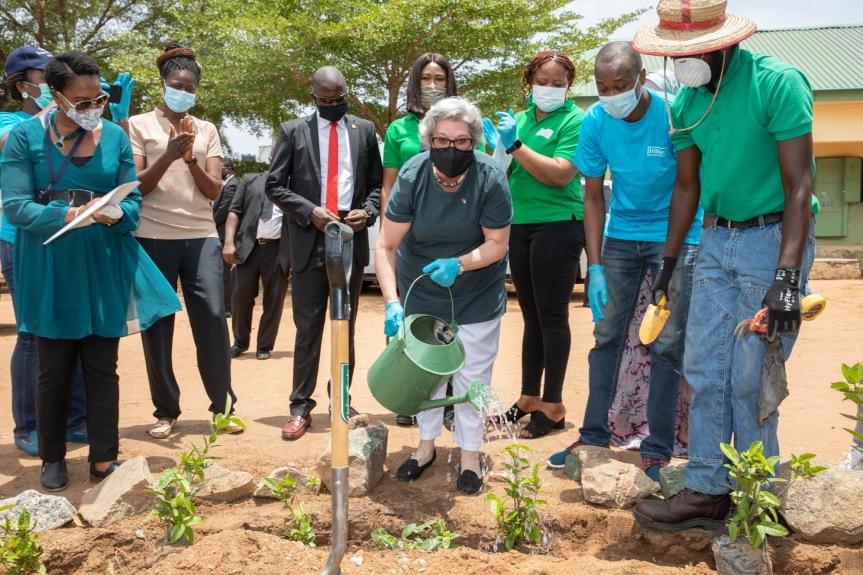 World Earth Day: U.S. Embassy  educates children, plantstrees