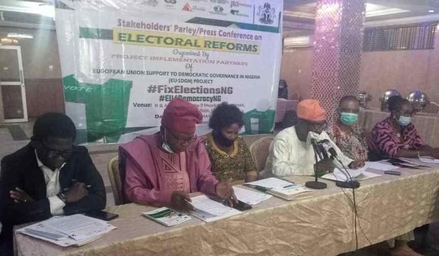 Electoral Reforms: CSOs demand electoral amendment for media, INEC, women, youths,PWDs