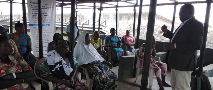 HUFFPED sensitises Lagos residents onGBV